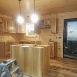 Toledo Bend Log Cabin contruction