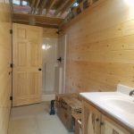 Toledo Bend Log Cabin contruction