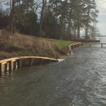 This is the picture my neighboar sent me of the seawall breach - March 1, 2018