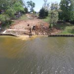 Toledo Bend Seawall Failure - April 3, 2018
