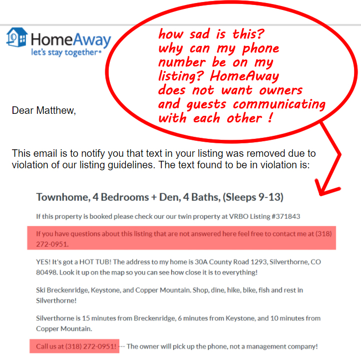 vrbo homeaway corporate greed