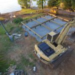 Toledo Bend Cabin foundation complete. Now we need a cabin!
