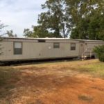 What my property used to look like when the trailer was there.