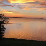 Toledo Bend Sunset July 4, 2018