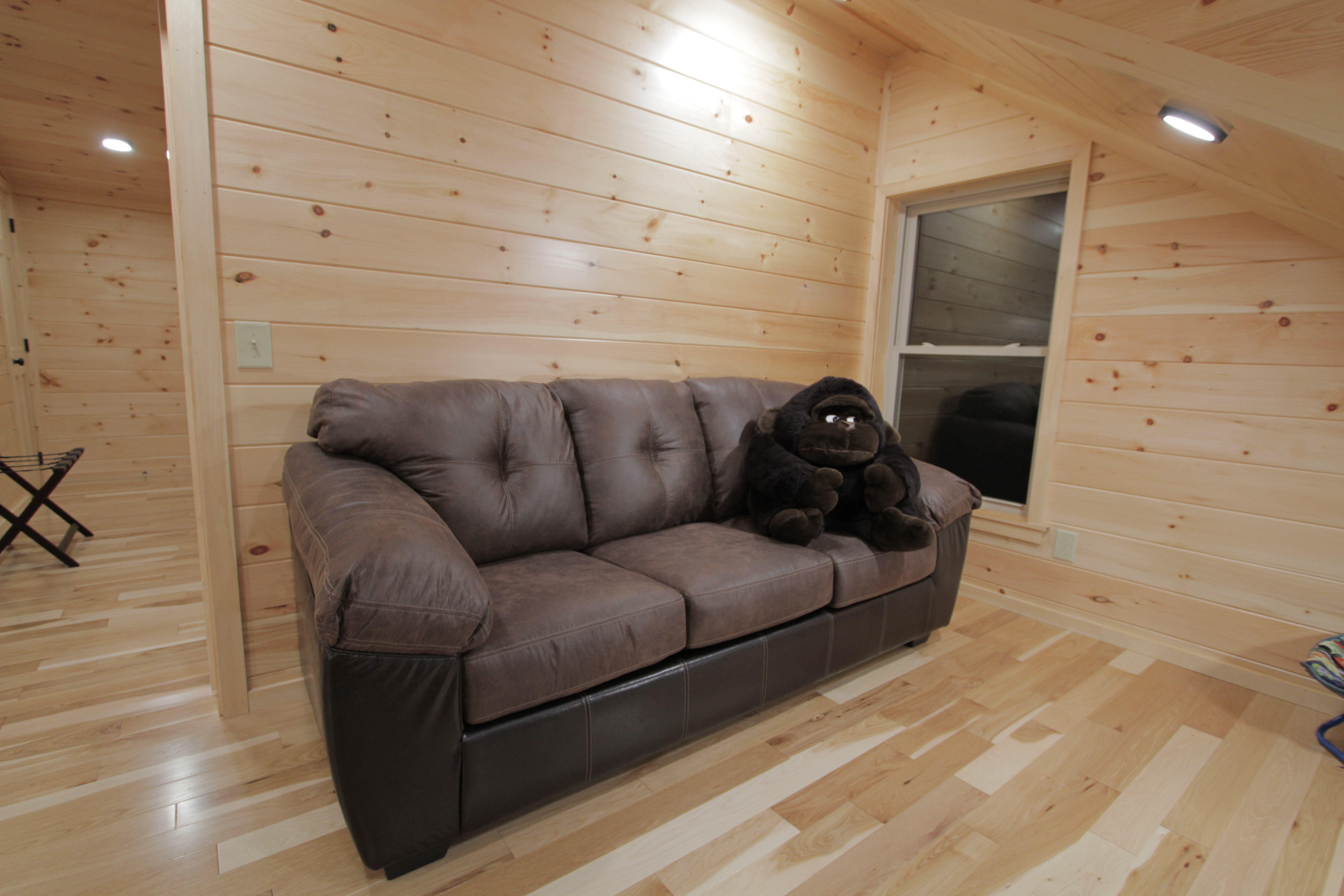 Toledo Bend Accommodations New Sleeper Sofa Added To The Cabin