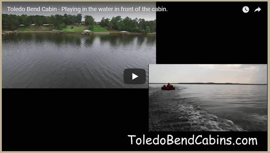 Tubing on Toledo Bend with 2 cameras