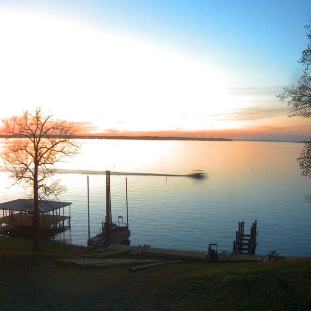 Yesterday evening at the Toledo Bend.  Boathouse construction coming along nicely.  Calendar is booking up fast.  If you want to spend some time at the cabin call/text 318-272-0951. ToledoBendCabins.com #toledobendcabins #toledobend #lakehouse #boathouse #bassfishing